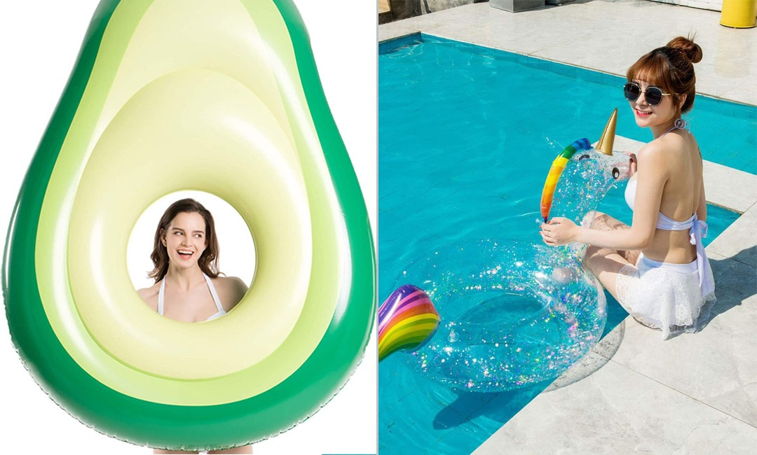 Fun Pool Accessories from Amazon   Cartageous.ca/Blog